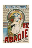 Riz Abadie Poster Giclee Print by H. Gray