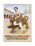 Poster Advertisement for Hercules P. Coutalianos Giclee Print