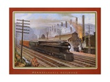 Pennsylvania Railroad, the Steel King Giclee Print by Grif Teller