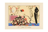 Le Grand Decolletage Giclee Print by Georges Barbier