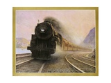 The Twentieth Century Limited of the New York Central Lines Poster Giclee Print by W.H. Foster