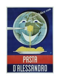 Pasta D'Alessandro Poster Giclee Print by Paolo Garretto