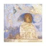 The Glance Giclee Print by Odilon Redon