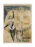 Theatre De L'Opera Poster Giclee Print by Henri Gray