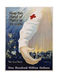 Keep This Hand of Mercy at its Work Poster Giclee Print by R.G. Morgan