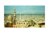 View of Cairo Giclee Print by Jean Leon Gerome