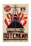 Battleship Potemkin Movie Poster Lámina giclée
