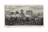 The Battle of Lexington Giclee Print
