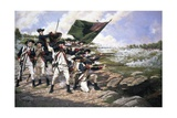 Battle of Long Island Giclee Print