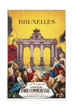 Bruxelles Cinquieme Foire Commerciale Poster Giclee Print by Willy Thiriar