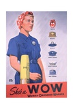 She's a Wow Poster Giclee Print by Adolph Treidler