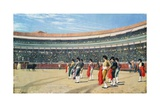 The Entry of the Bull Giclee Print by Jean Leon Gerome