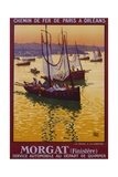 Morgat (Finistere) Travel Poster Giclee Print
