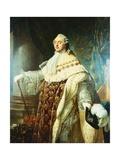 Portrait of Louis XVI Giclee Print by Antoine Francois Callet
