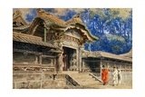Gate at Nikko Shrine Giclee Print by Ioki Bunsai