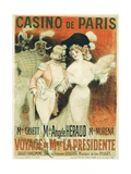 Casino De Paris Poster Giclee Print by Georges Redon