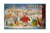 Hippodrome Opera Co. - Aida Poster Giclee Print