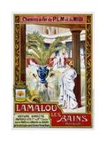 Lamalou Les Bains Giclee Print by A. Trinquier-Trianon