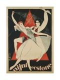 Nijni Et Stone Poster Giclee Print by Obrad Nicolitch