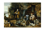 "Camping in the Woods, ""A Good Time Coming"" after Arthur Fitzwilliam Tait Giclee Print"