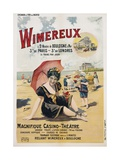 Wimereux Travel Poster Giclee Print by Henri Gray