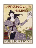 L. Prang and Co.'s Holiday Publications Poster Giclee Print by Louis John Rhead