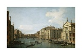 The Grand Canal, Venice, Looking South-East Giclee Print by  Canaletto
