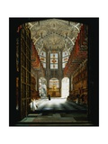 A View of the Interior of Henry VII Chapel, Westminster Abbey Giclee Print by John Harwood