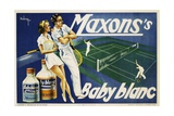 Maxons's Baby Blanc Linen Wash Poster Giclee Print
