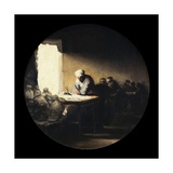 A Merchant in His Office (Allegory of Commerce) Giclee Print by Francisco de Goya