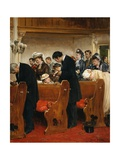 Pay Attention Giclee Print by Henry Bacon