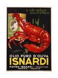 Isnardi Poster Giclée-tryk af Plinio Codagnatto
