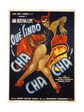 Que Lindo Cha Cha Cha! Movie Poster Giclée-Druck