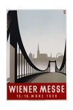 Poster Advertisement for Wiener Messe Trade Fair Giclee Print