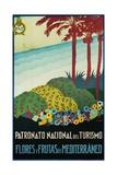 Patronato Nacional Del Turismo Spanish Travel Poster Giclee Print by A. Vercher
