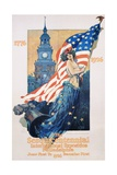 The Sesquicentennial International Exposition Poster Giclee Print by Dan Smith