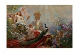 The Toilet of Venus Giclee Print by Constantin Makowsky