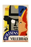 Polisens Villebrad Movie Poster Giclee Print by  Donner