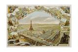 Exposition Universelle De Paris 1889 Poster Giclee Print