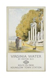 Virginia Water Giclee Print by Frederick Pegram