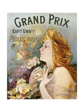 Grand Prix Poster Giclee Print