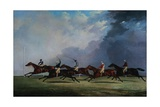 The Finish for the Ascot Cup Giclee Print by John Dalby