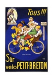 Tous!!! Poster Giclee Print by Michel Liebeaux