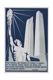 The Torch: Be it Yours to Hold High! Poster Giclee Print by Richard E. Filipowski