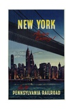 New York . . . Always Exciting! Go Giclee Print