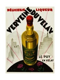 Verveine Duvelay Liqueur Advertisement Poster Giclee Print by Max Ponty