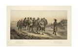 The March of Miles Standish Giclee Print