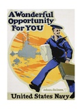 A Wonderful Opportunity for You Recruitment Poster Stampa giclée