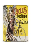 Cycles La Gracieuse Et Gloria Poster Giclee Print