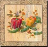 Bon Appetit IV Stretched Canvas Print by  Longo